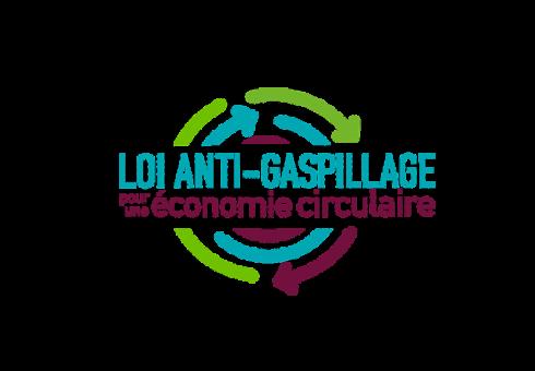 Logo de la loi anti-gaspillage